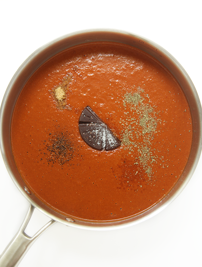 Mexican Recipe for Peanut Chocolate Sauce